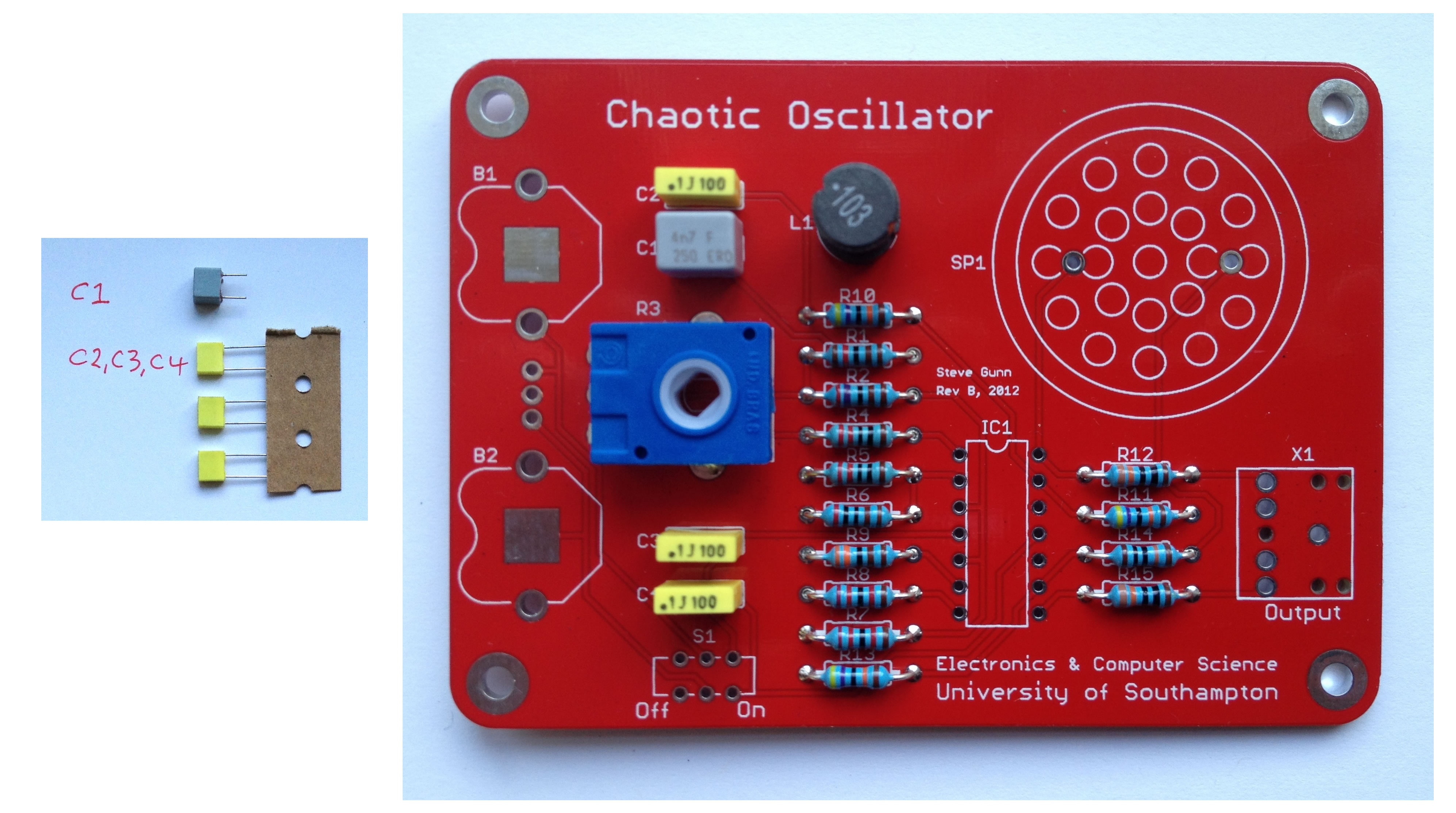 Capacitors, Inductor and Potentiometer