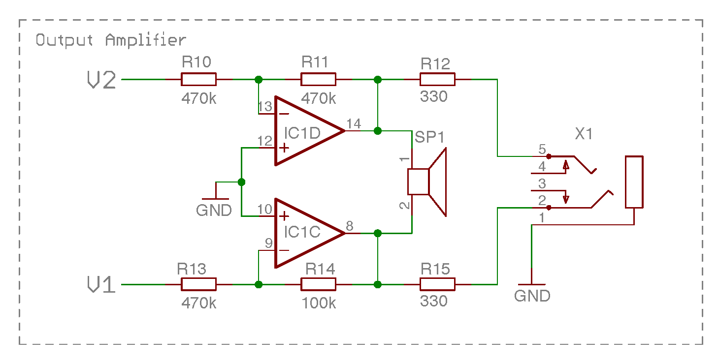 The Amplifier Circuit