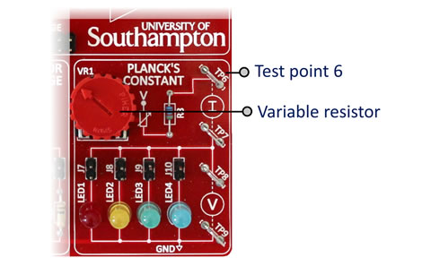 Planck's Constant Section
